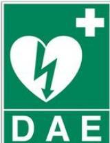logo défibrillateur - DAE