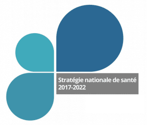 Logo Strategie Nationale de Santé 2017-2022